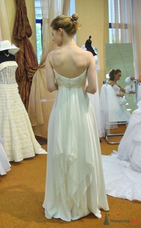 Платье №1, сзади