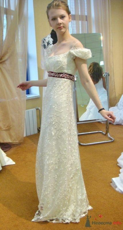 Платье №3 с убранным шлейфом - фото 26567 malysh_eva
