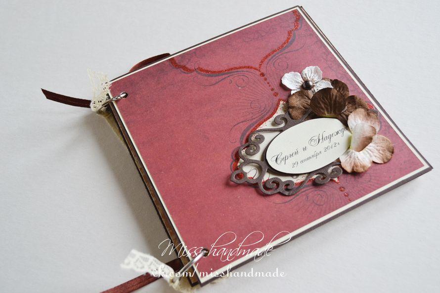 Фото 597987 в коллекции Мини фото-альбомы. - Miss-handmade - свадебные аксессуары