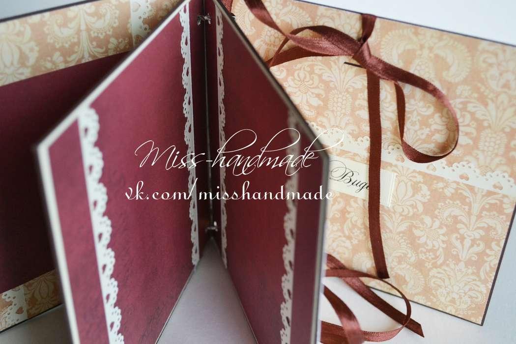 Фото 597989 в коллекции Мини фото-альбомы. - Miss-handmade - свадебные аксессуары