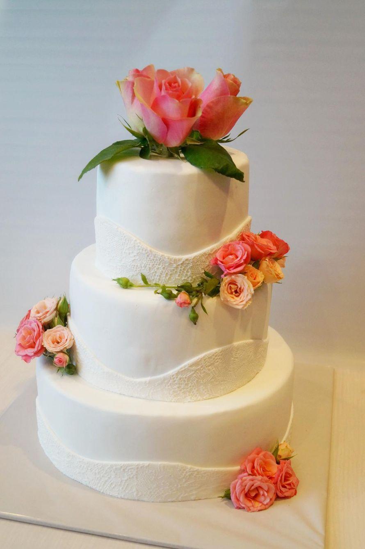 Фото 6241381 в коллекции Свадебные торты - Наталия Архипова торт на заказ