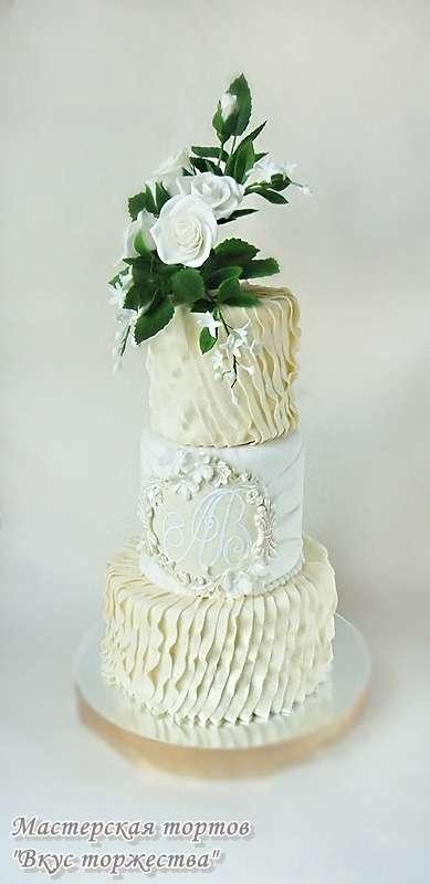 """Фото 6283741 в коллекции Свадебные торты - Мастерская тортов """"Вкус торжества"""""""
