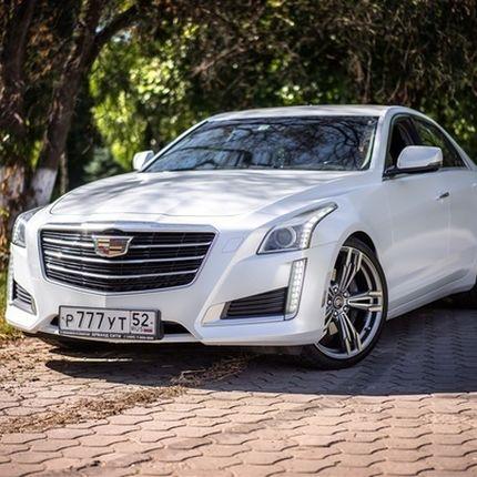 Cadillac Cts III в аренду