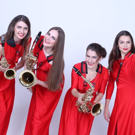Выступление квартета саксофонисток