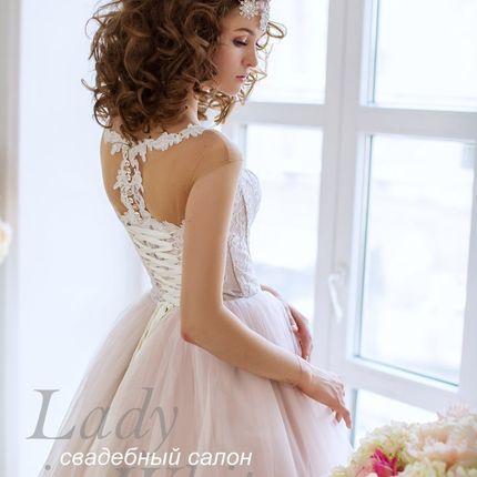 Свадебное платье, модель 9110П