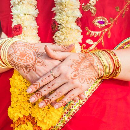 Свадебная церемония на Гоа