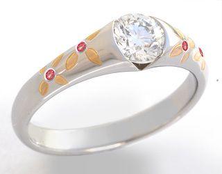 Платина, золото, бриллиант , сапфиры - фото 6456226 Национальный ювелирный дом