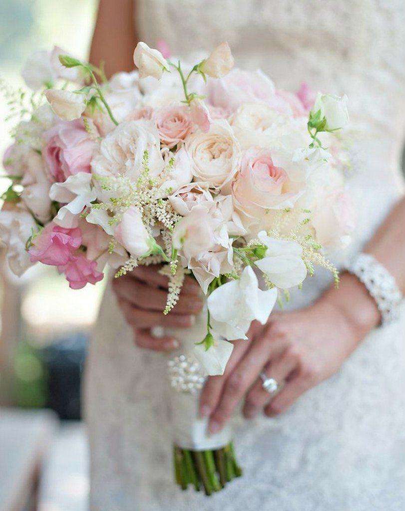 Букет из роз для невесты фото 2018 из живых цветов