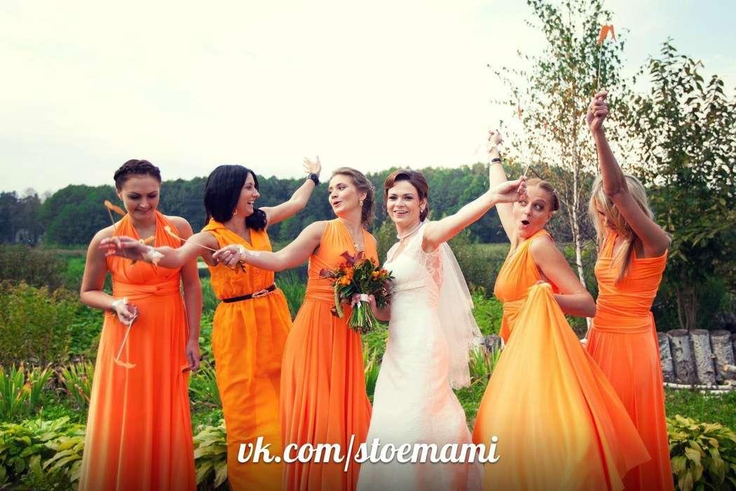Фото 6447514 в коллекции Платья-трансформеры для подружек невесты - Платья-трансформеры для подружек невесты STOEMAMI