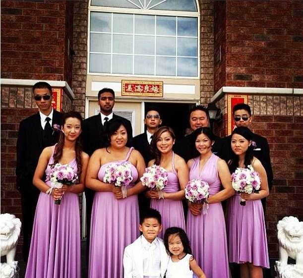 Фото 6447522 в коллекции Платья-трансформеры для подружек невесты - Платья-трансформеры для подружек невесты STOEMAMI