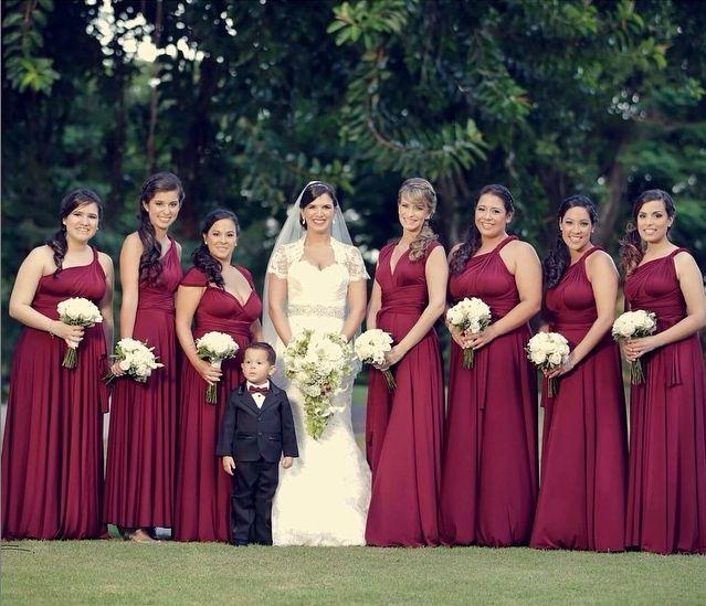 Фото 6447524 в коллекции Платья-трансформеры для подружек невесты - Платья-трансформеры для подружек невесты STOEMAMI