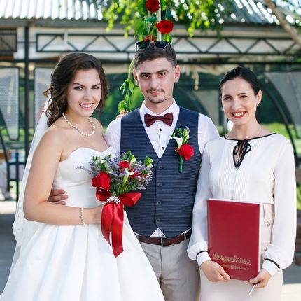 Репетиция свадебной церемонии
