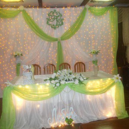 Свадебное украшение и вензель