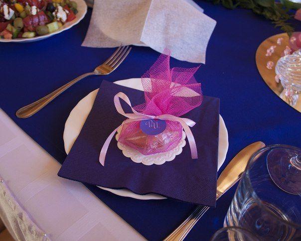 Фото 6586798 в коллекции Синяя свадьба с розовым акцентом - Студия декора и флористики  - Malina group
