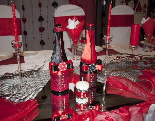 Фото 6586870 в коллекции Оригинальная красная свадьба - Студия декора и флористики  - Malina group