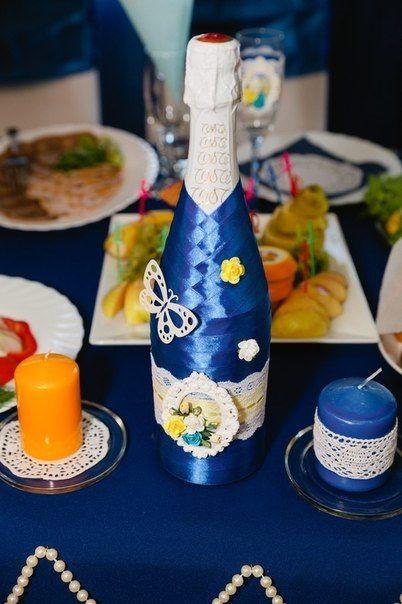 Фото 6586890 в коллекции Сине-жёлтая свадьба - Студия декора и флористики  - Malina group