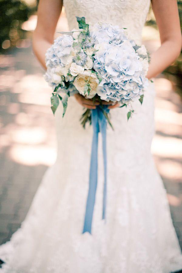 Свадебный букет с голубыми лентами - фото 7727462 Maltina Maria - свадебная и праздничная полиграфия