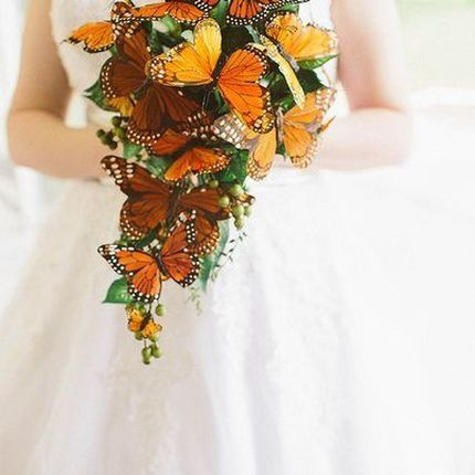 Букет-дублер из искусственных цветов