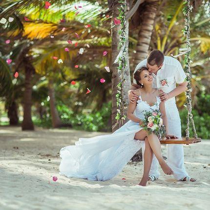 Организация свадьбы на приватном пляже