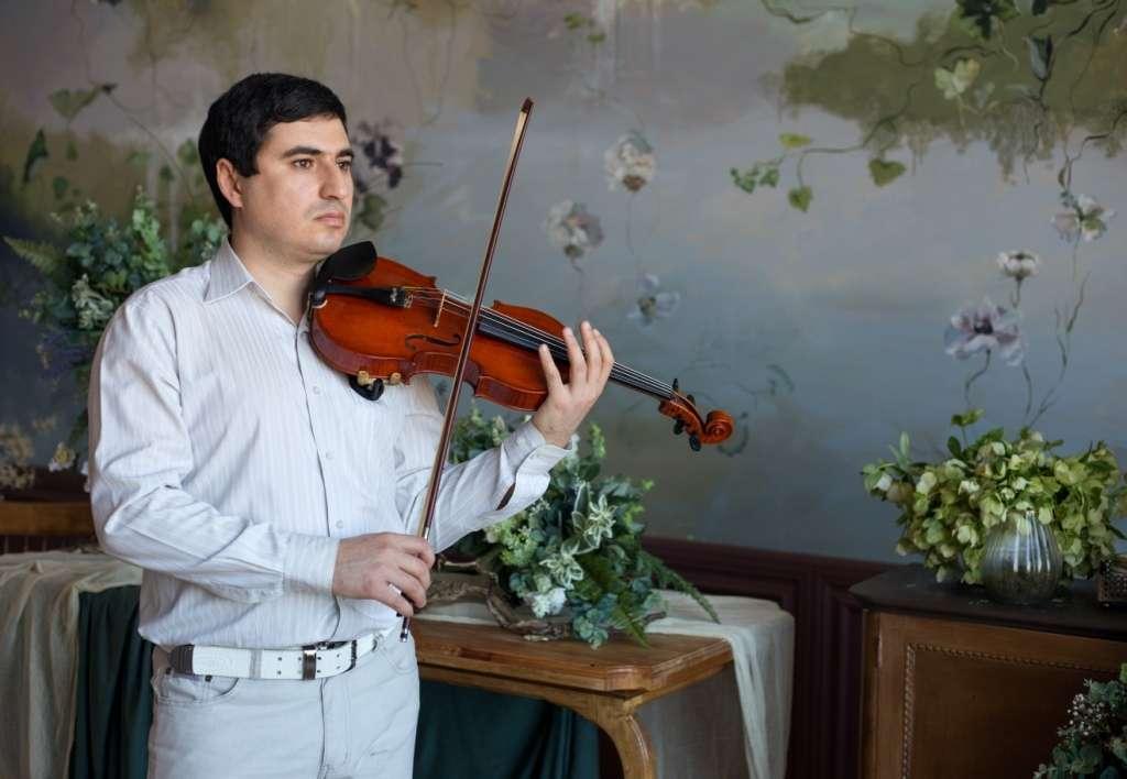 Скрипач на свадьбу Краснодар - фото 17267984 Скрипач Иван Овсепян