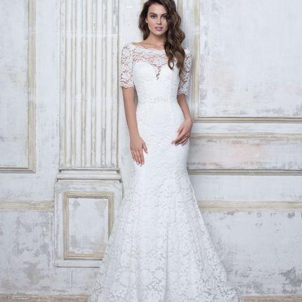 Кружевное платье Amare