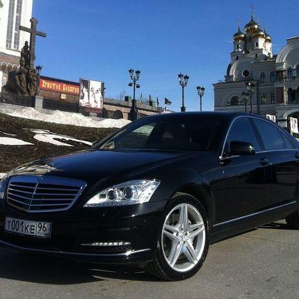 Аренда авто Mercedes S 500 Long W221, цена за 1 час