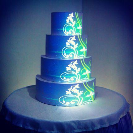 3D Маппинг - Шоу для Свадебного Торта
