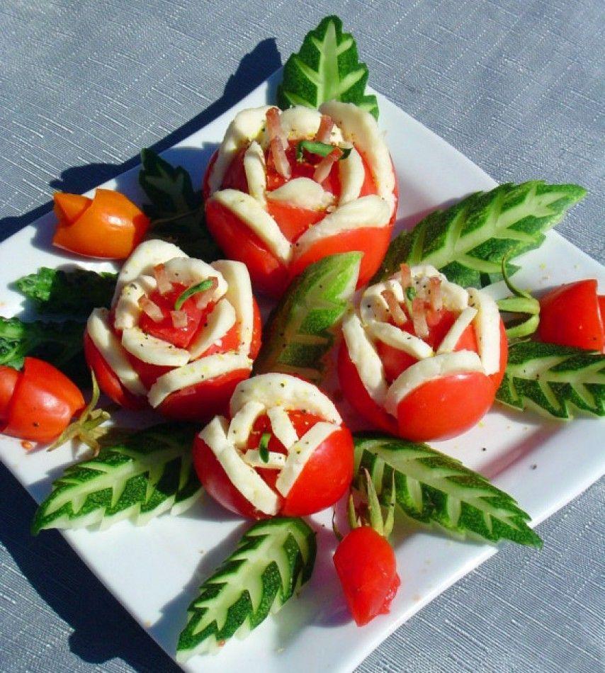 Украшения вторых блюд пошаговое фото
