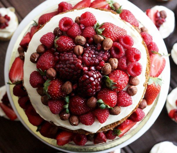 """Торт """"Морковный с сырным кремом"""" в стиле рустик - фото 6793990 The wondercake - Эксклюзивные десерты"""
