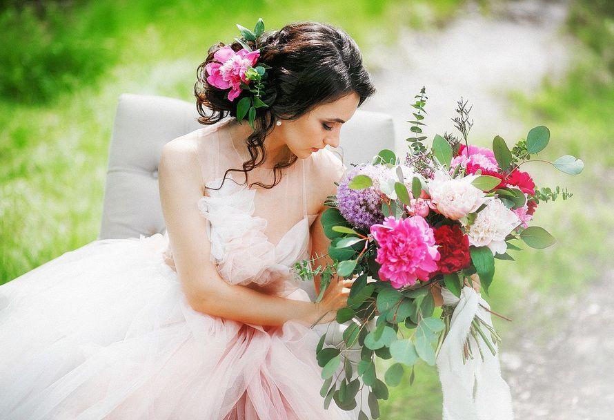 прическа+макияж - фото 13030312 Свадебный стилист-визажист Жанна Шевлякова