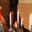 свечи готика свадьба в стиле готика