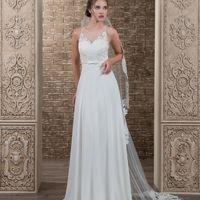 Платье свадебное А-силуэта