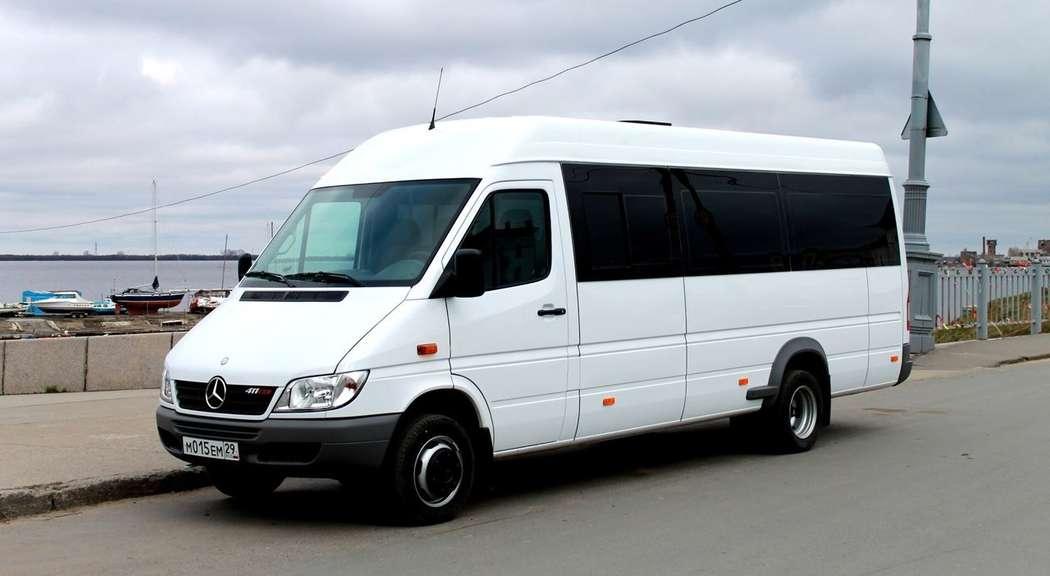 Автобус Mercedes-Benz Sprinter - 20 мест - 1200 руб/час - фото 6931592 Дилижанс - аренда авто