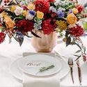 свадьба, декор, флористика, банкет, свадебный стол, красный, оранжевый, осень, букет невесты, фотостудия, лофт, свадьба в лофте