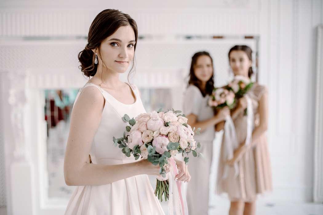 свадьба, подружки невесты, невеста, белый - фото 16450826 Маслова Виктория - фотограф