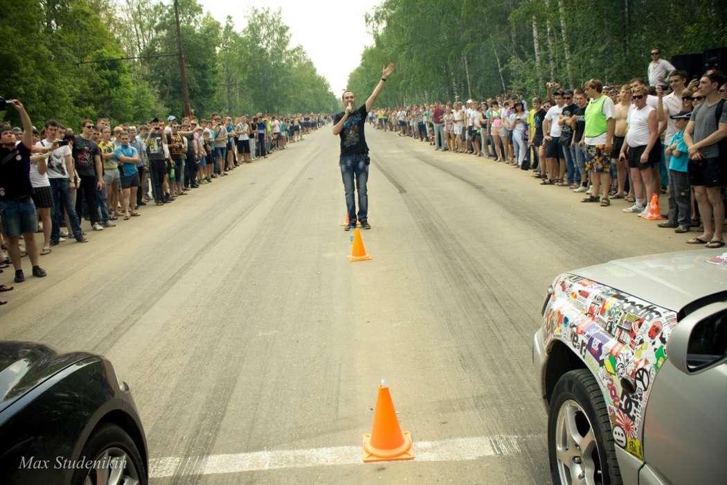 проведение автосоревнований по DRAG RACING - фото 7054272 Aндрей Курьянов - организатор и ведущий