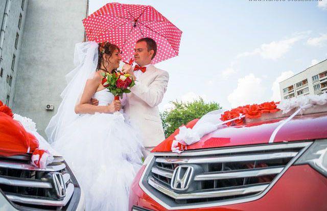 Свадебный кортеж Honda Accord-8