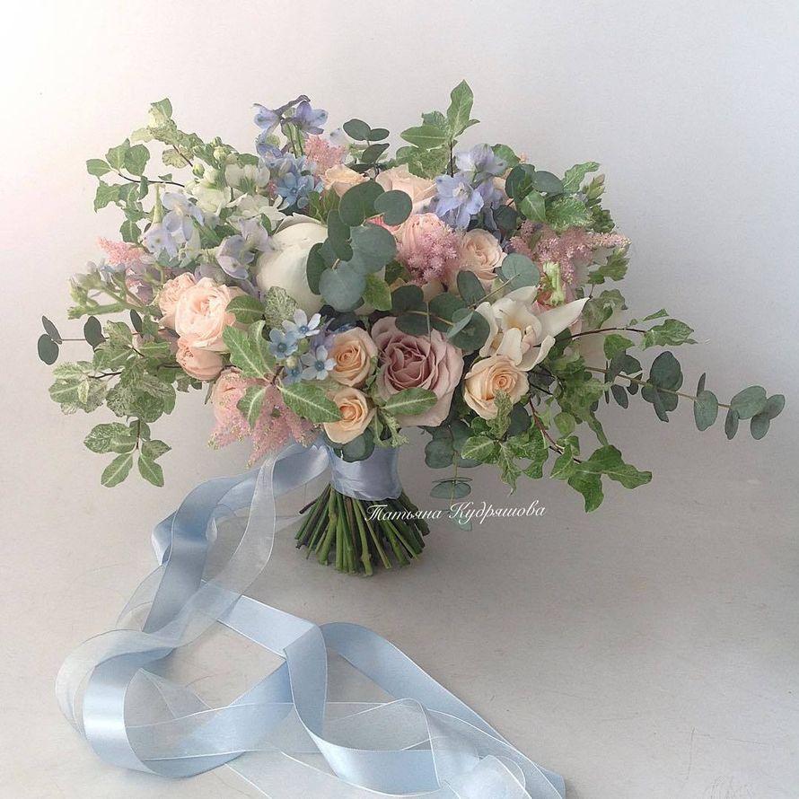 Букет невесты - фото 17627598 Цветочная мастерская Татьяны Кудряшовой
