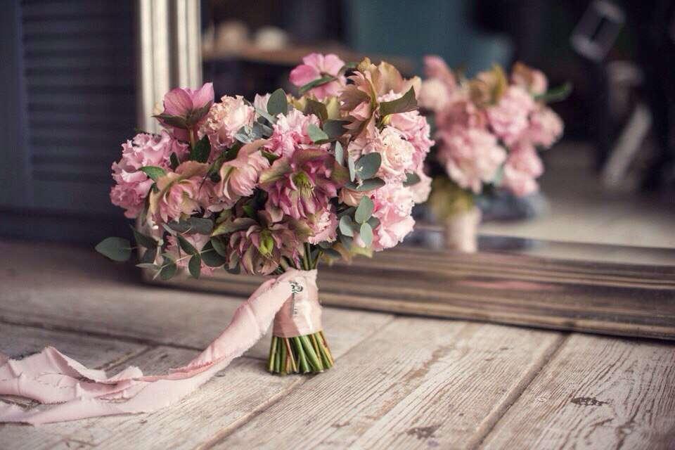 Букет невесты - фото 17627600 Цветочная мастерская Татьяны Кудряшовой