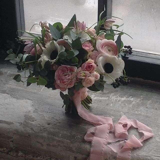 Букет невесты - фото 17627628 Цветочная мастерская Татьяны Кудряшовой