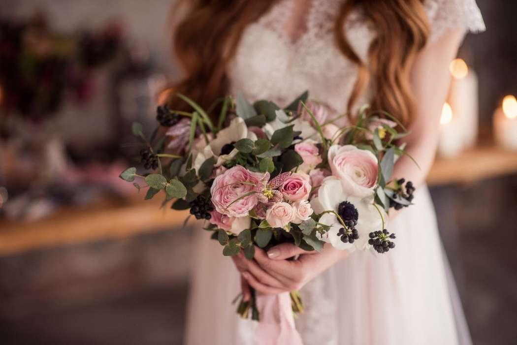Букет невесты - фото 17627630 Цветочная мастерская Татьяны Кудряшовой