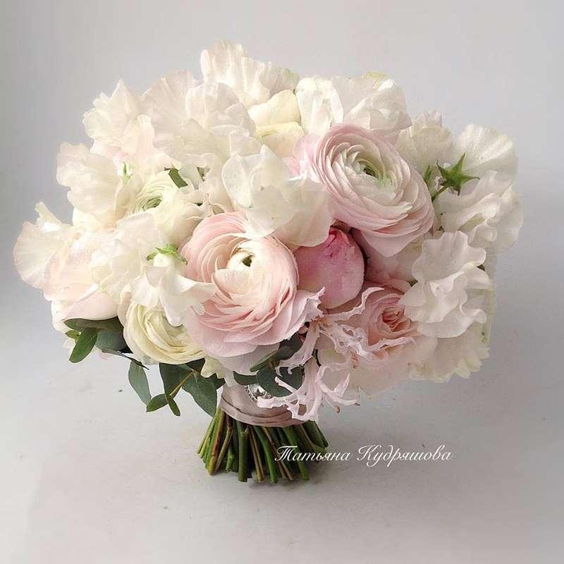 Букет невесты из пионовидных роз - фото 18457970 Цветочная мастерская Татьяны Кудряшовой