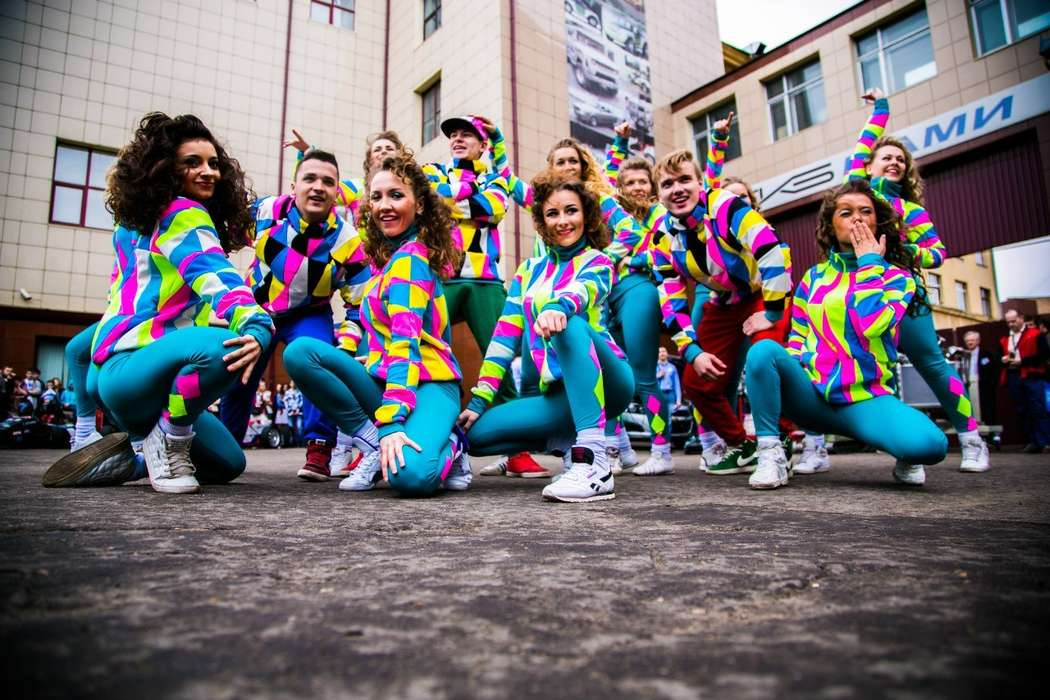 фотосессия для танцевального коллектива одна
