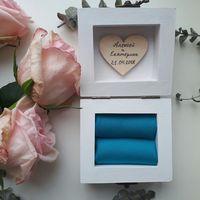Шкатулка для колец с цветами