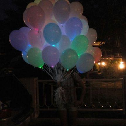 Светящиеся шары, цена за 1 шар