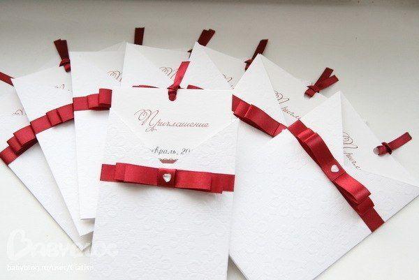 Приглашения на свадьбу своими руками конвертом