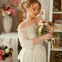 прическа и макияж для свадебной фотосессии