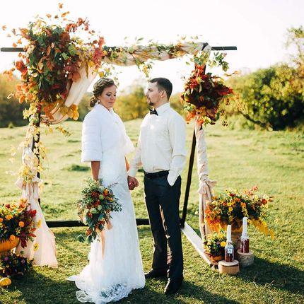 Свадебная арка и декор