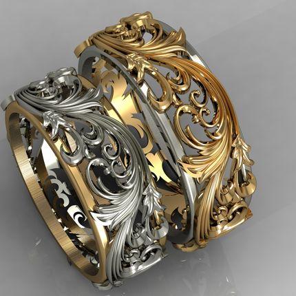 Эксклюзивные кольца