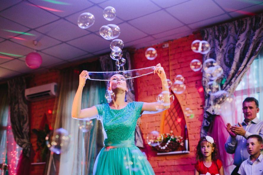 """Фото 12043502 - Шоу мыльных пузырей """"Yes show"""""""